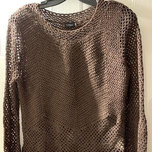 Nice chocolate InWear sweater, size L